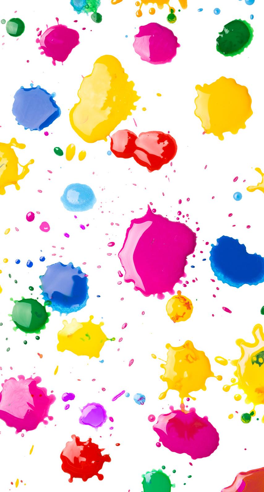 multicolor, splash