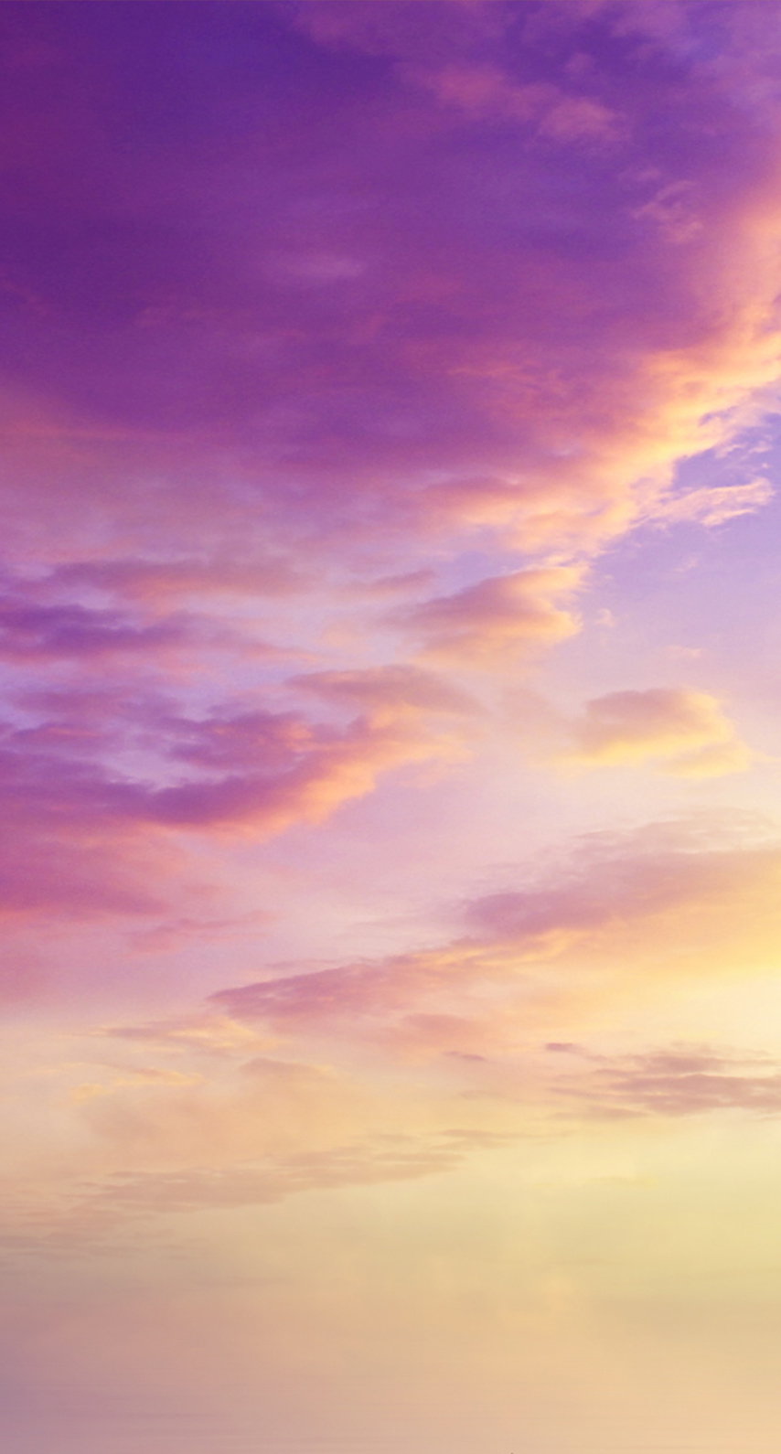 purple, sunset