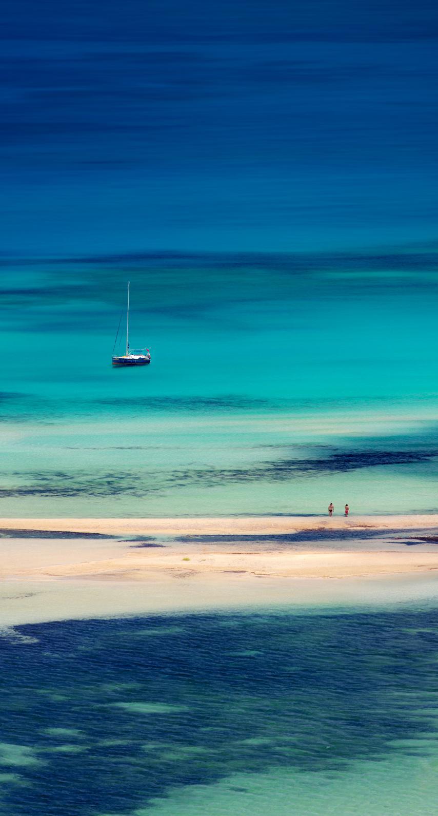 daytime, coastal and oceanic landforms