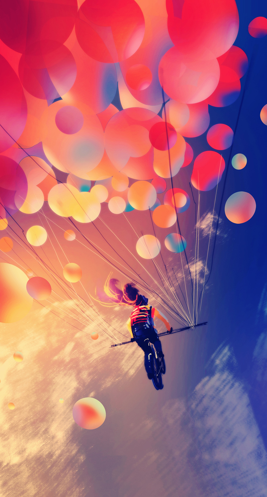 sunlight, parachuting