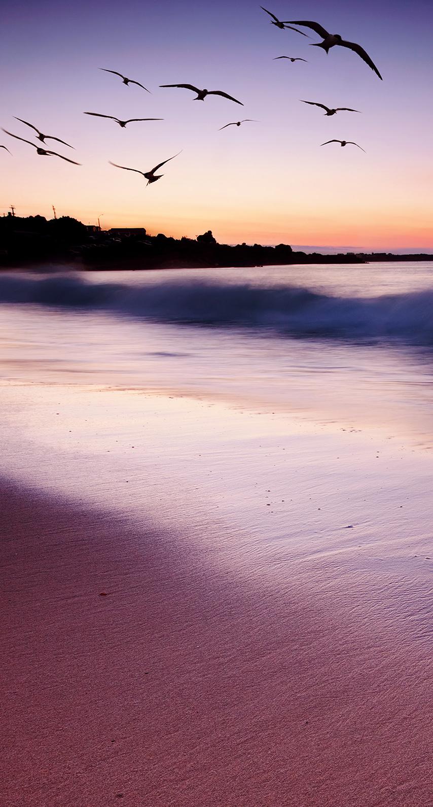 seashore, calm