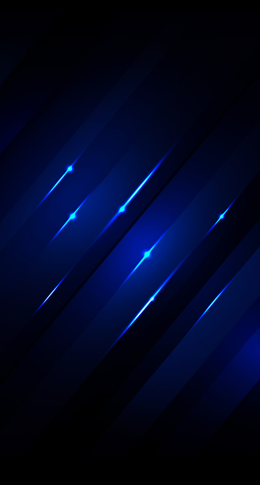 darkness, electric blue