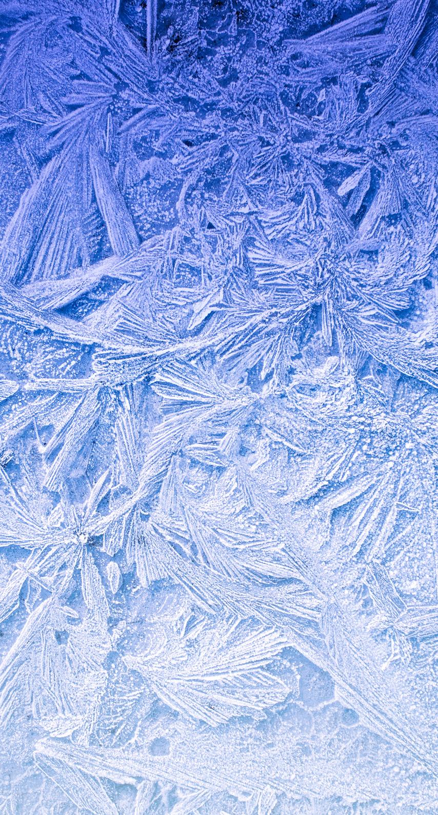 frosty, ice