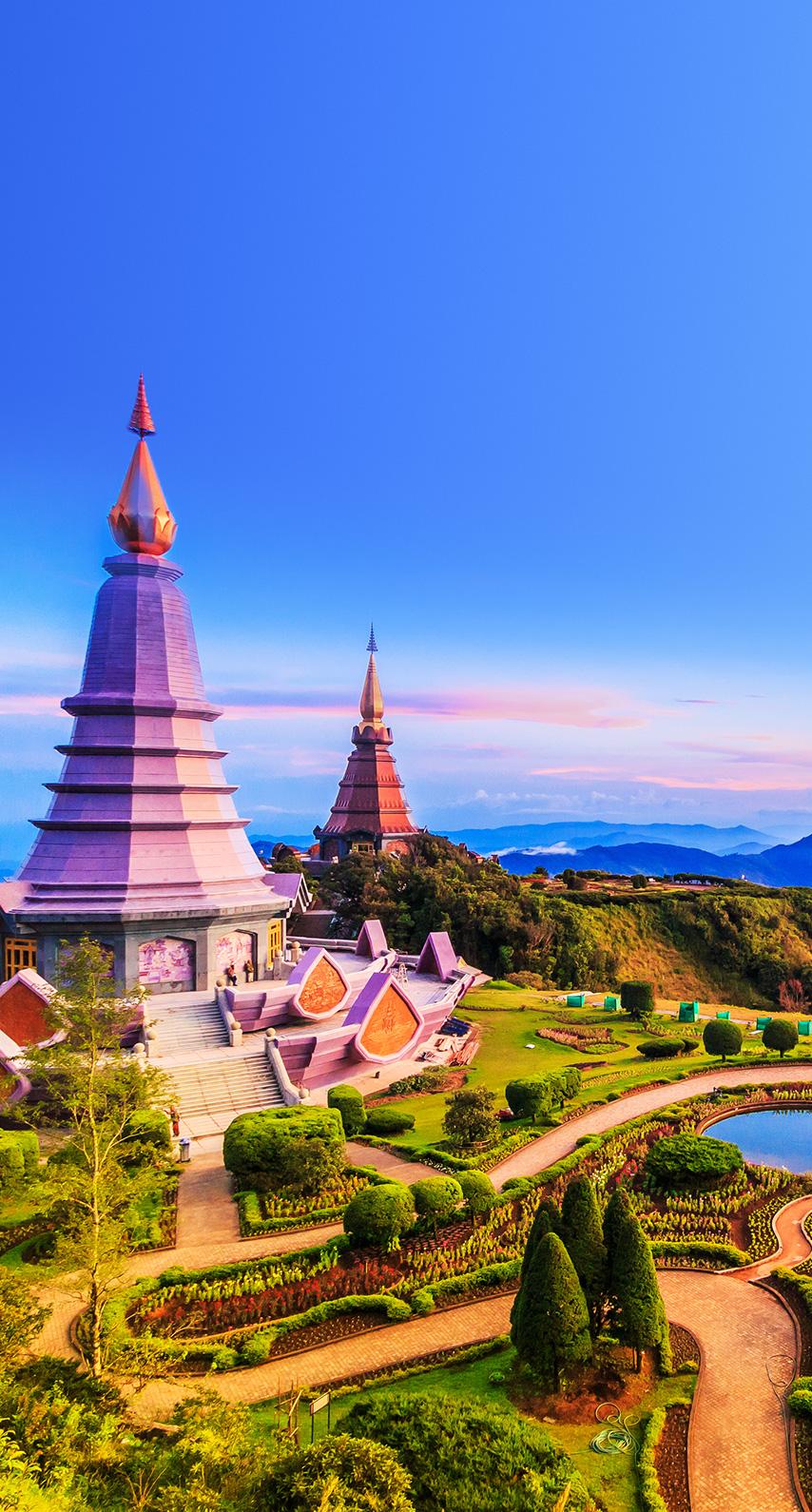 pagoda, stupa