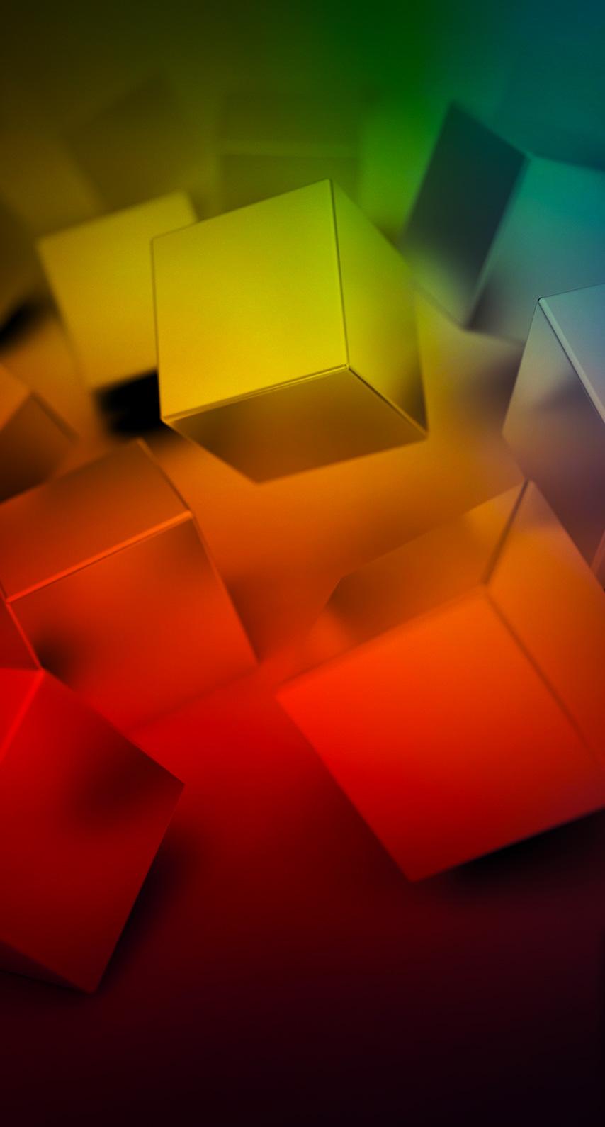 art, cubes