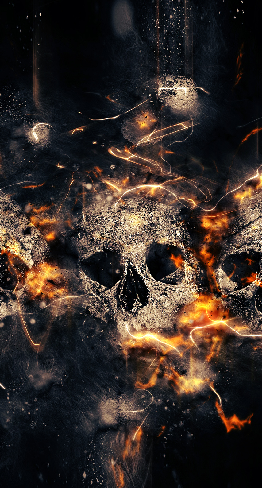 wildfire, burn