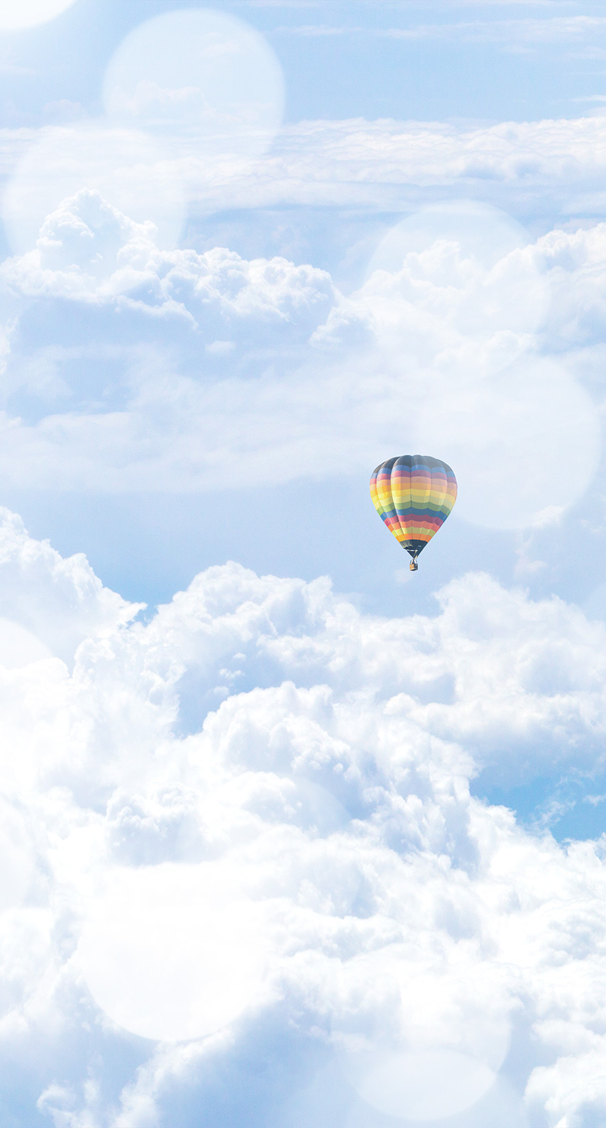 high, flying