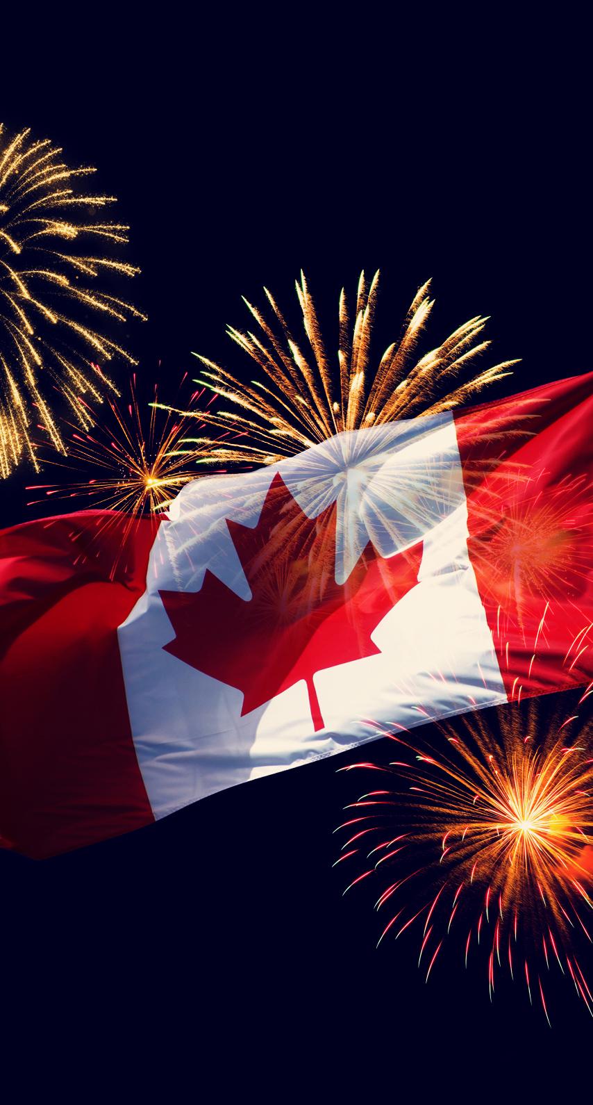 fireworks, canada