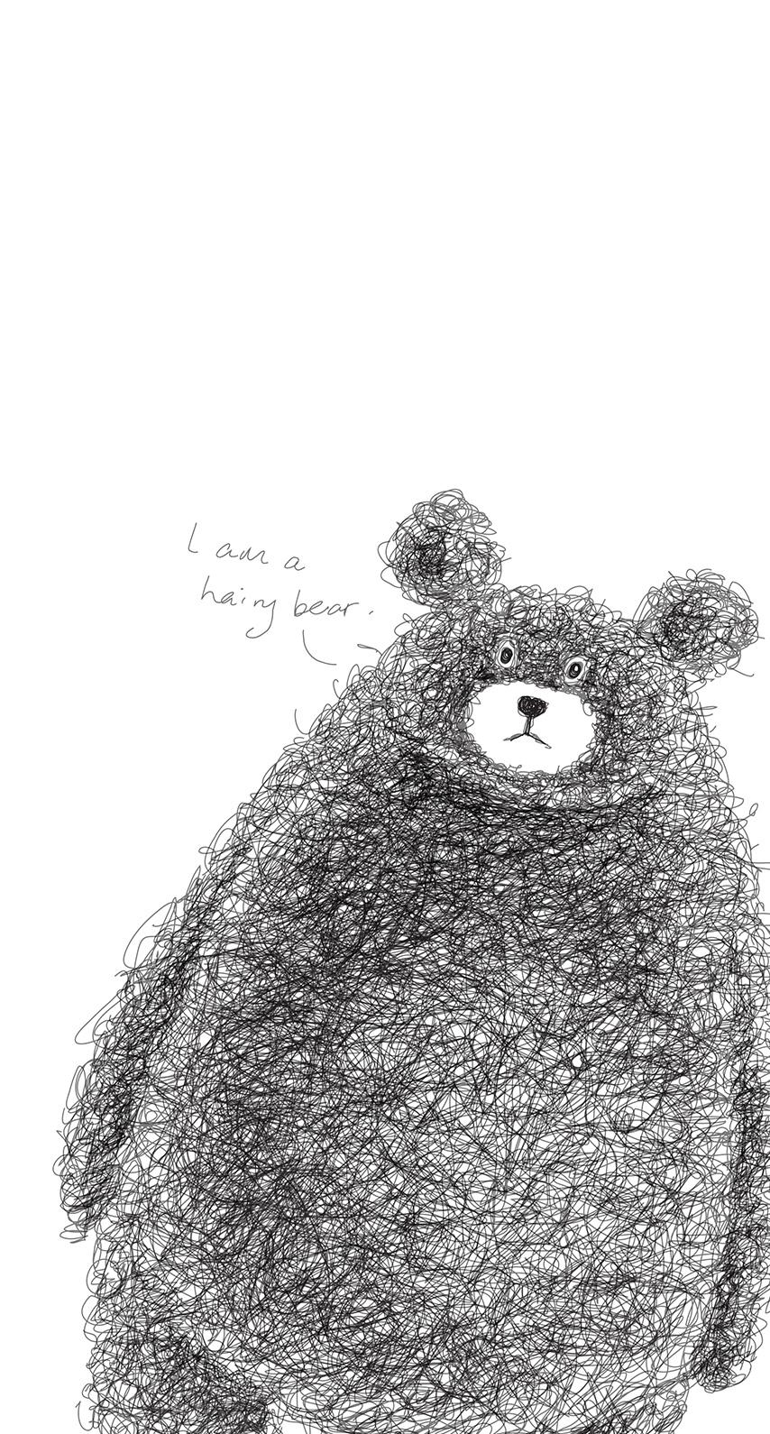 bear, animal