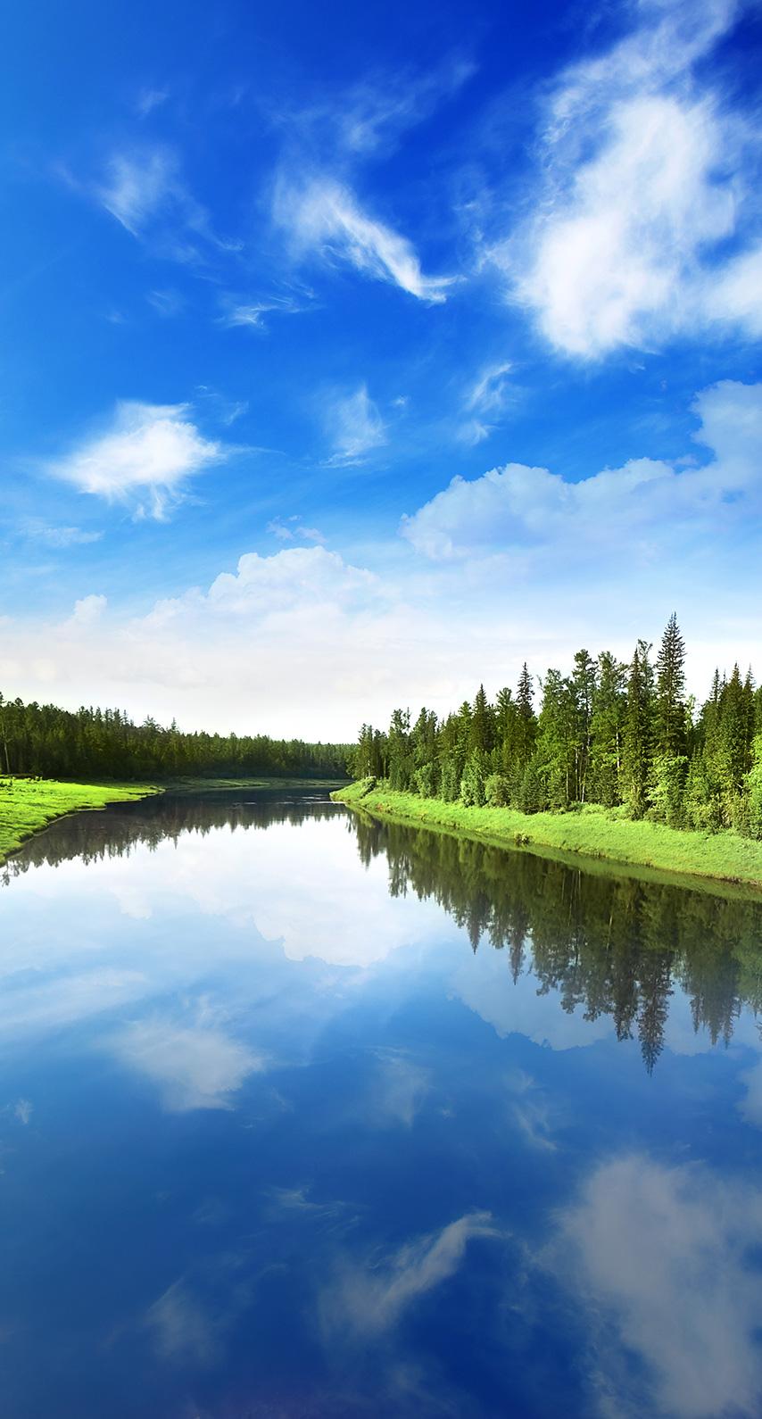 mount scenery, reservoir