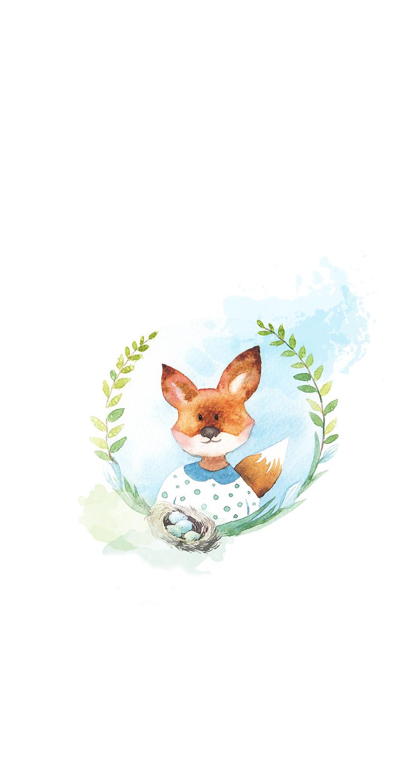 bird, fox