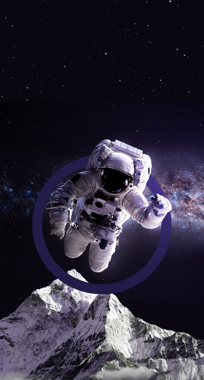 outer space, space station