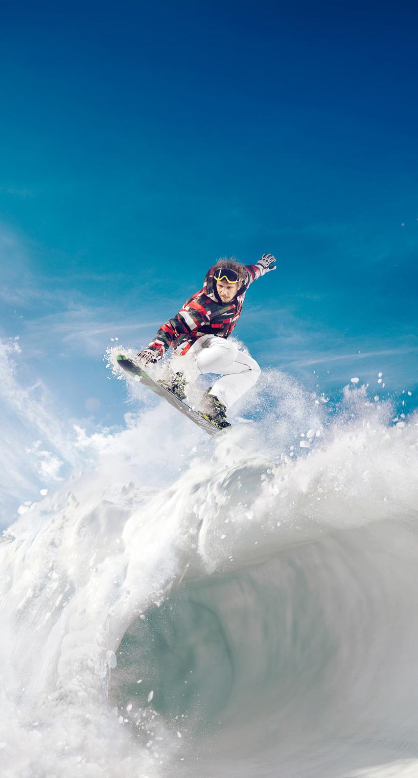 exhilaration, skier