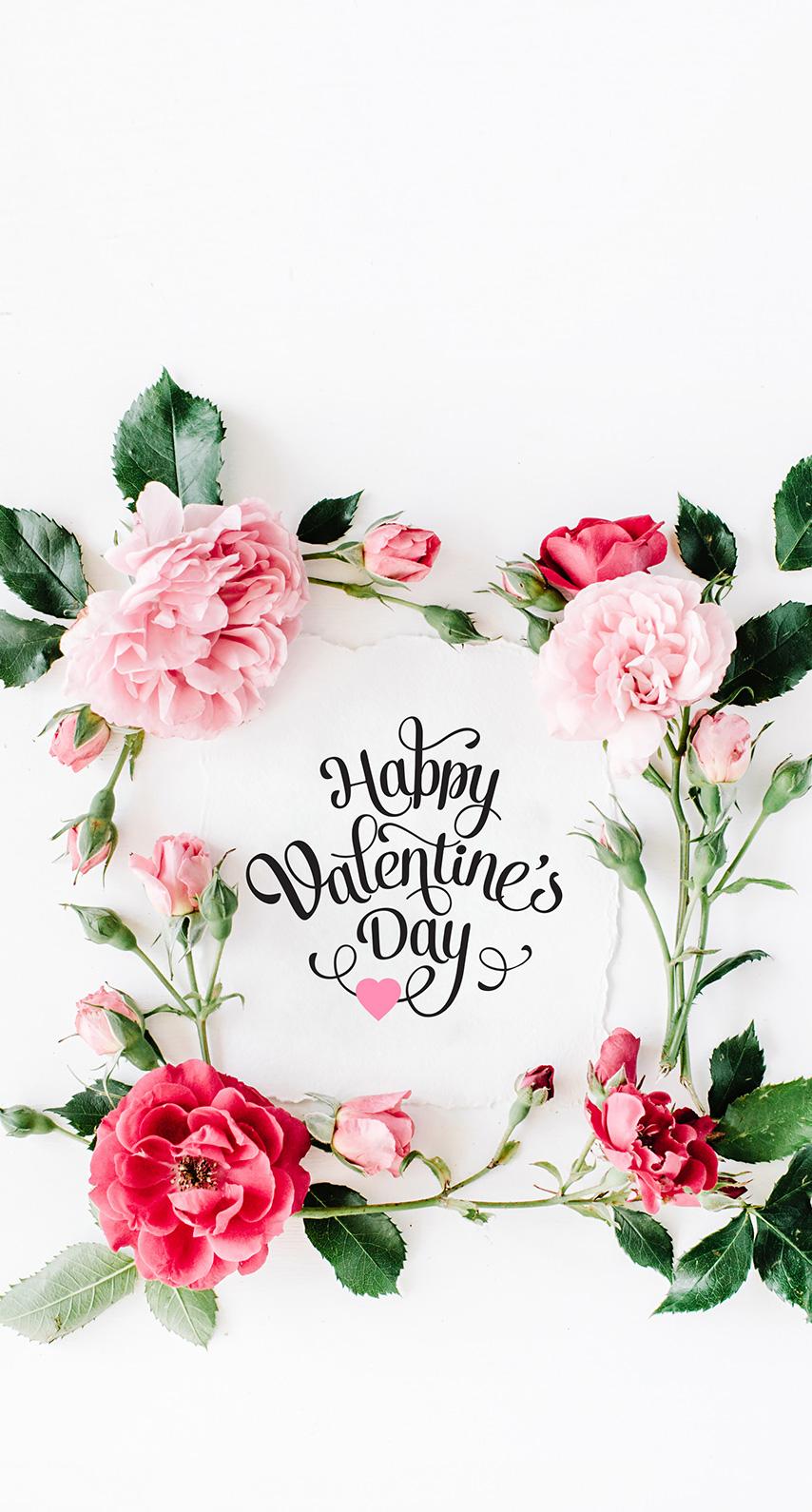 valentine, floral
