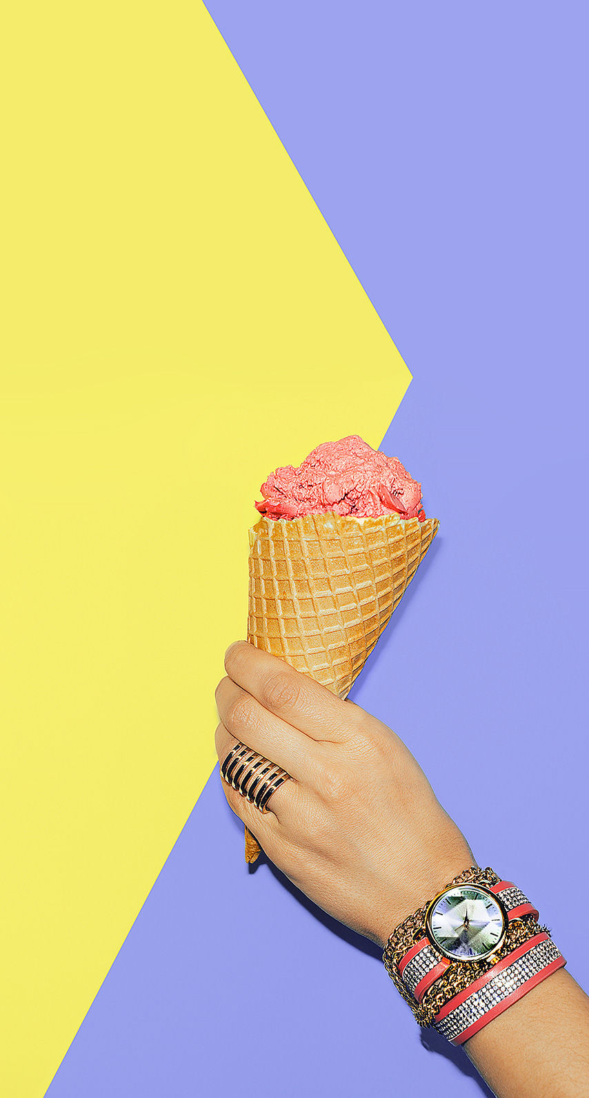 ice cream cone, dessert