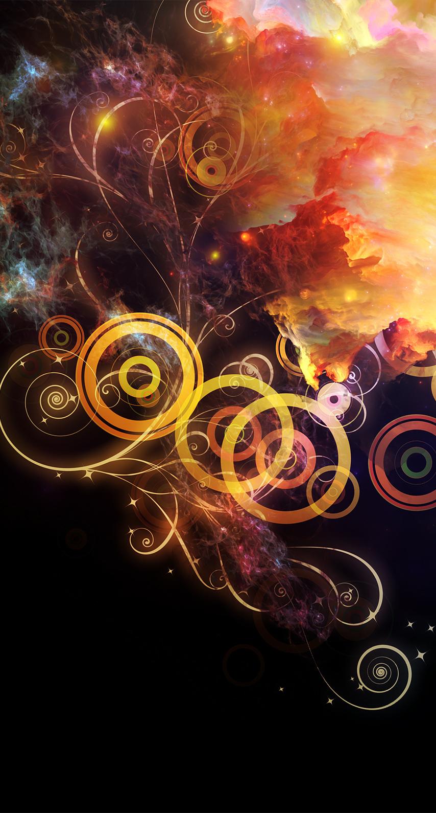 fractal, luminescence