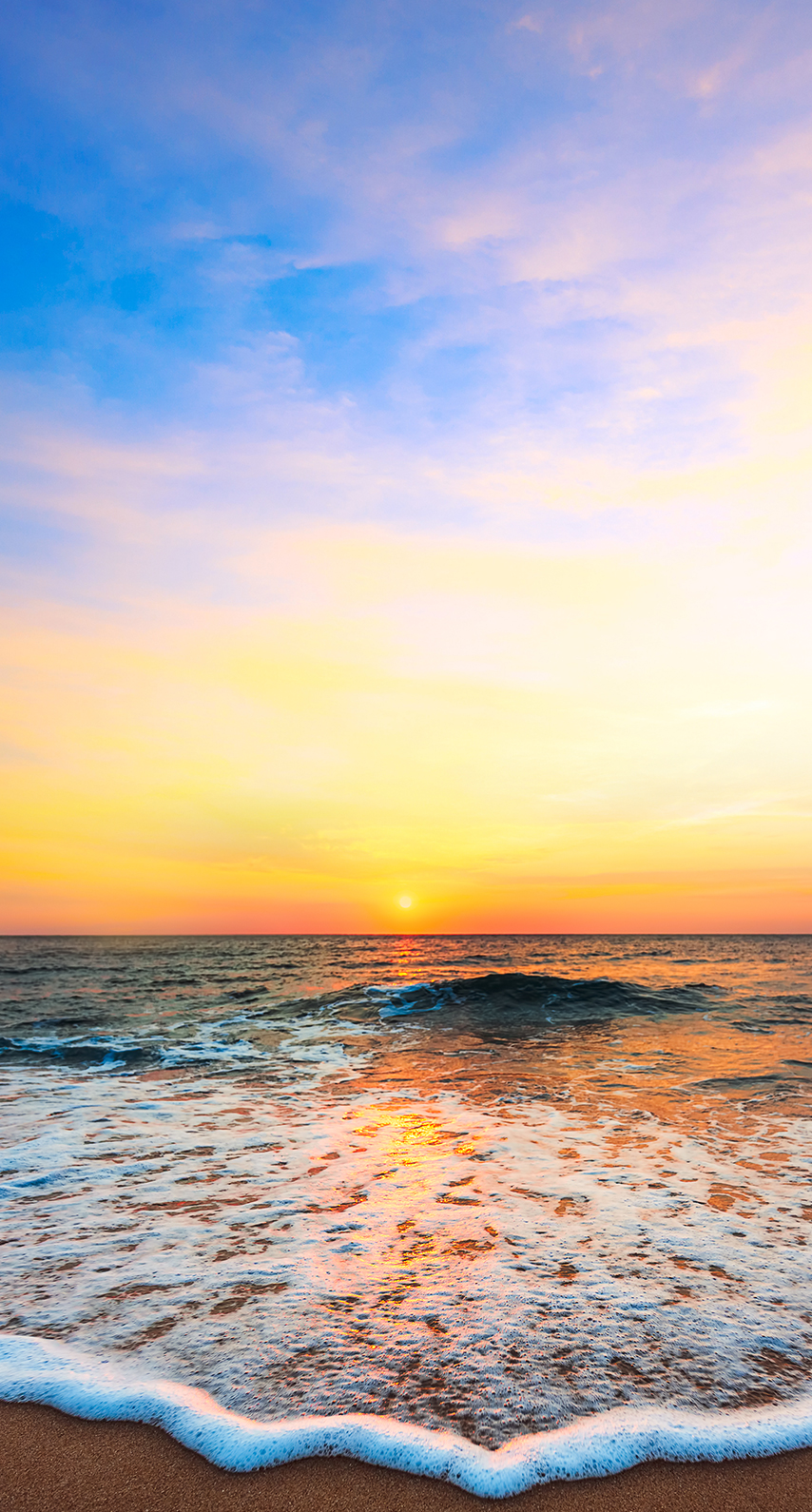 wave, sand