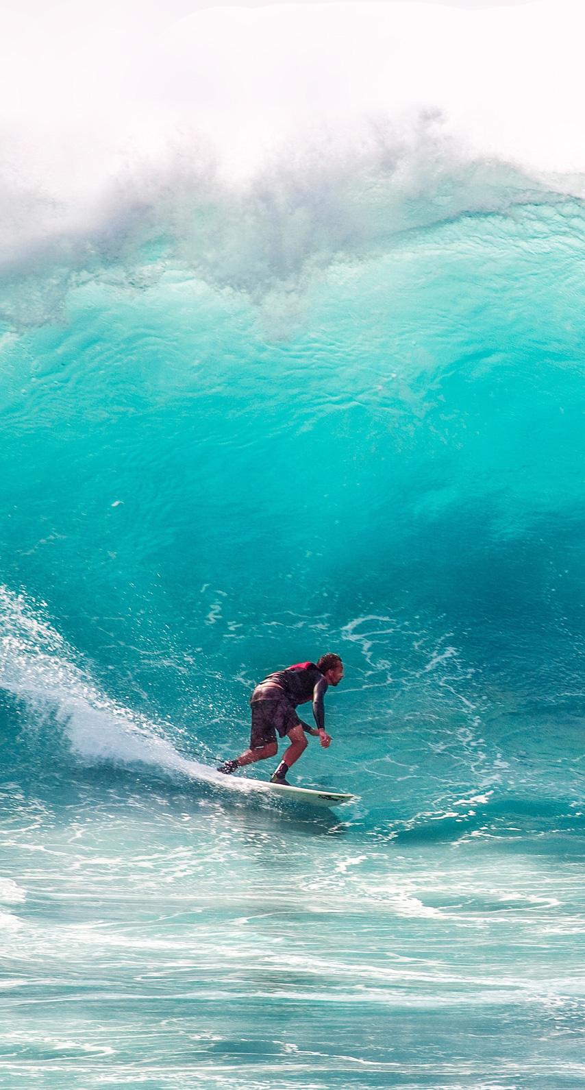 splash, waves