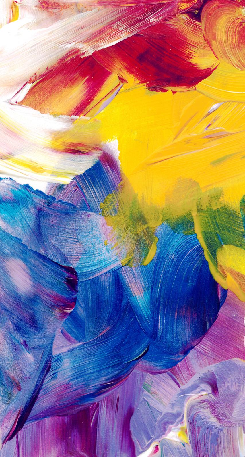modern art, acrylic paint